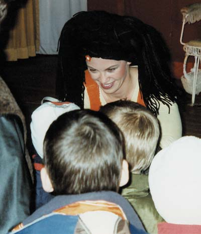 Kindertheater Frau